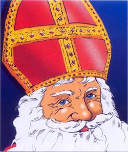Dans tous les villages o les enfants sont sages - Saint nicolas dessin couleur ...